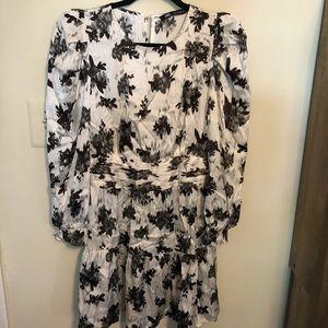 Zara Long Sleeve Silky Dress